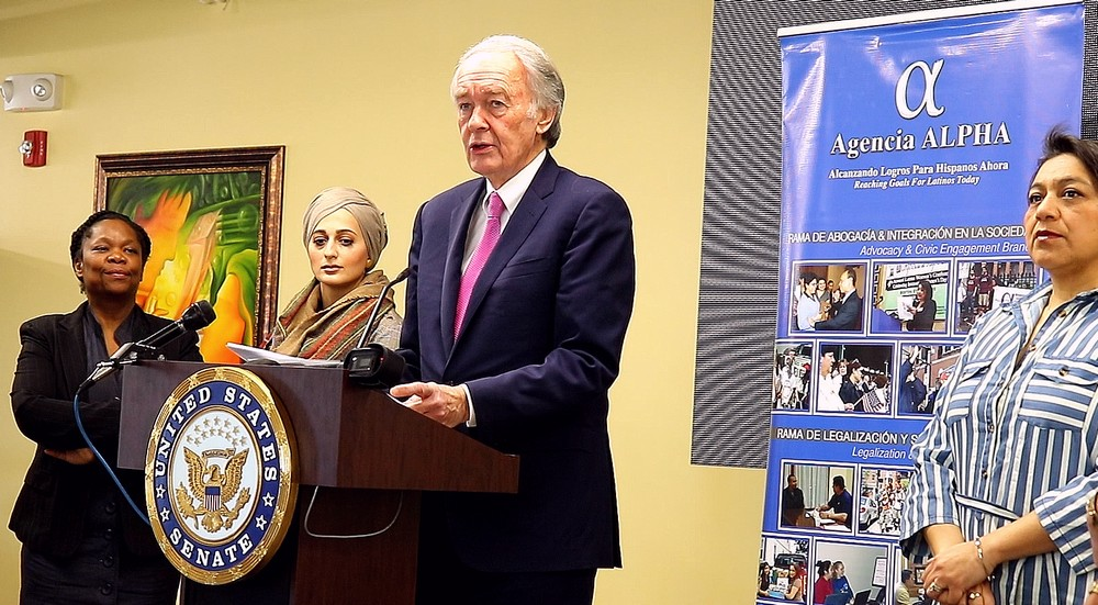 Sen. Markey at New Deal for New Americans event March 9 2020